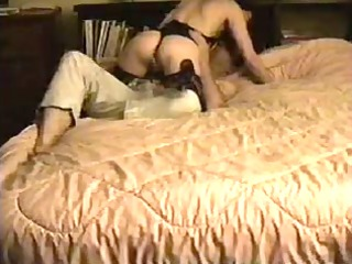 wife fucking in darksome teddy and stockings