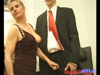 businessmen group banging naughty mother i
