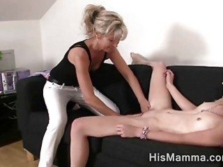 girlfriend receives tempted by older lesbo who