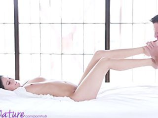 puremature youthful mommy acquires creampie