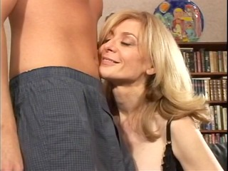 golden-haired mother id like to fuck undresses