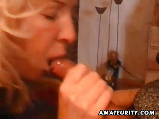 mature amateur wife home full blowjob with