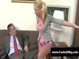 cuckold sessions - interracial threesome fuck 101