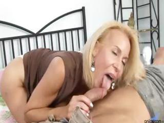 older cougar receives drilled