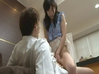 japanese juvenile wife to acquire foot massage