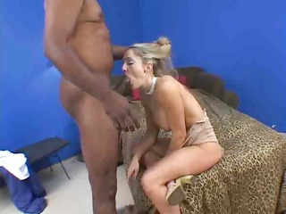 busty golden-haired decided she is wanted to try