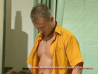 aged housemate screwed by lewd chap