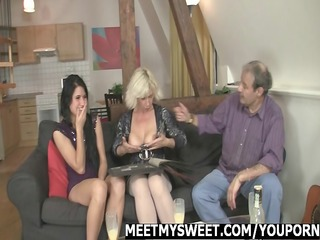 cutie receives screwed by her bfs family
