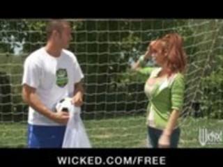 big-tit british redhead soccer mama lia lor bonks