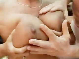 big beautiful woman granny outdoor