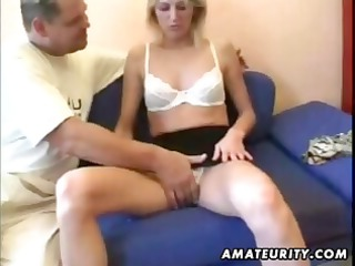 dilettante blond girlfriend acquires her body