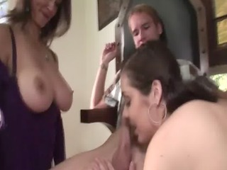 step mom gives lesson to her daughter