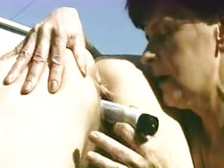 granny and fatty getting drilled