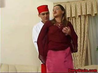 lonely mama seduces her sons ally and bonks on