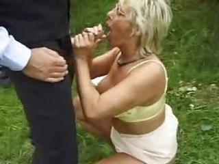 mature slut caught