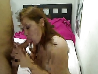 breasty mature mishy gives her man a blowjob