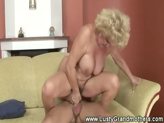 hawt breasty granny screwed and engulfing young