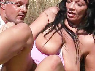 excited milf acquires fucked hard outdoor free