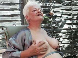 granny shows her beaver still needs trio act