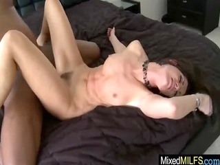 breasty hot mother i riding a dark hard dong
