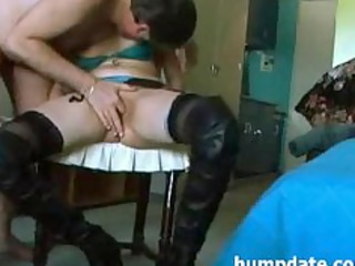 hawt wife receives her chocolate hole rammed