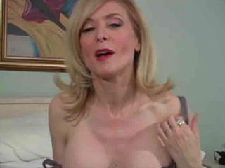 older nina hartley in hose as not at any time
