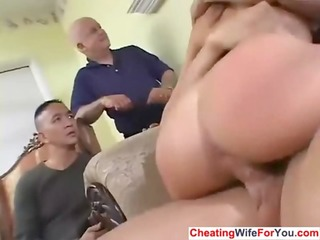 hot wife receive facialized