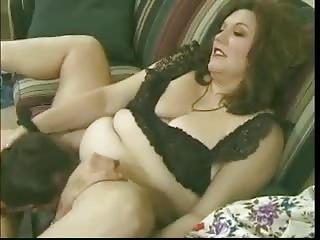bbw bushy mom copulates cock