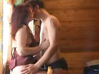 horny boy rips girls` panties off and licks their