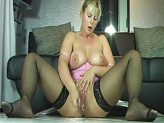 breasty d like to fuck in stockings juicy squirt