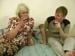 large drunk mommy acquires drilled by legal age