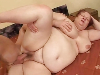 big beautiful woman grannie copulates with young
