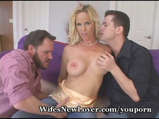 hot blonde acquires nasty with recent lovers