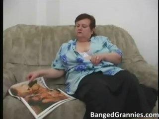 bulky milf slut with big boobs receives