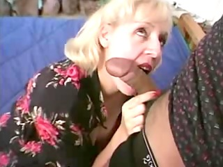 aged bulky pianoteacher receives drilled by two