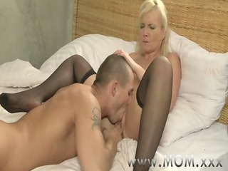 mommy blond milf&#457_s and their lovers