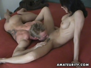 busty aged wife homemade hardcore action