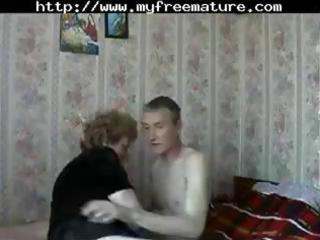 aged russian mamma receives a juvenile stud to