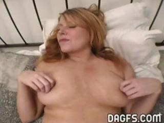 breasty mother i acquires her pussy toyed and her