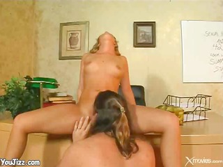 blond bombshell fuck and creampie