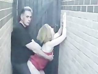dilettante sex in alley