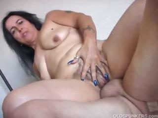 charming mature hottie nina enjoys a hard fucking
