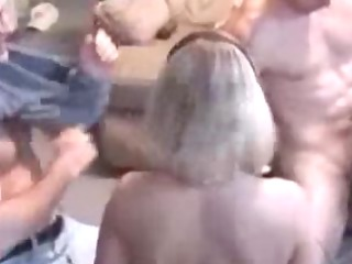 home fuckfest with two couples