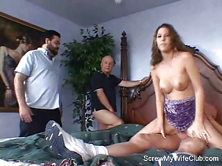 wife lives out fantasy: getting screwed!