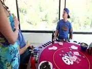 Mom fucks son&#039_s poker friend AC