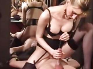 Kinky mature dominatrix extreme cbt and