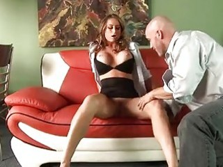 bawdy milf playgirl west reaching her throat on a