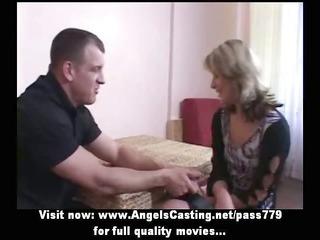 amateur hawt blonde bride enjoyable talking and