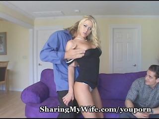 honey shows her hubby how he is should fuck