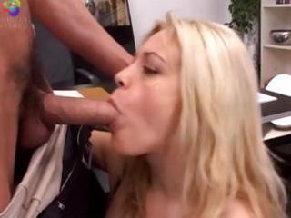 blond aged slut fucking anal and fisting